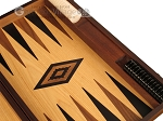 picture of Ebony Zebrano Backgammon Set - Large - Oak Field (9 of 12)