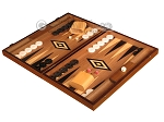 picture of Ebony Zebrano Backgammon Set - Large - Walnut Field (3 of 12)
