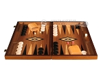 picture of Ebony Zebrano Backgammon Set - Large - Walnut Field (4 of 12)