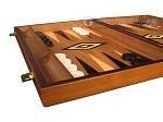 picture of Ebony Zebrano Backgammon Set - Large - Walnut Field (5 of 12)