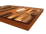 picture of Ebony Zebrano Backgammon Set - Large - Walnut Field (6 of 12)