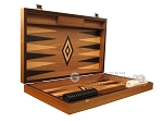picture of Ebony Zebrano Backgammon Set - Large - Walnut Field (7 of 12)