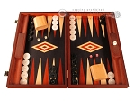 picture of Padauk Backgammon Set - Large - Black Field (1 of 12)