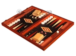 picture of Padauk Backgammon Set - Large - Black Field (3 of 12)