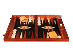 picture of Padauk Backgammon Set - Large - Black Field (4 of 12)