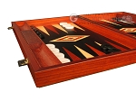 picture of Padauk Backgammon Set - Large - Black Field (5 of 12)