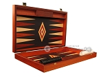 picture of Padauk Backgammon Set - Large - Black Field (7 of 12)