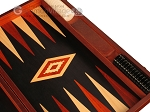 picture of Padauk Backgammon Set - Large - Black Field (9 of 12)