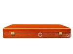 picture of Padauk Backgammon Set - Large - Black Field (11 of 12)