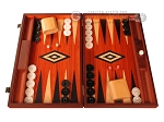 Padauk Backgammon Set - Large - Padauk Field - Item: 2868