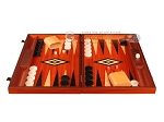 picture of Padauk Backgammon Set - Large - Padauk Field (4 of 12)