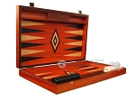 picture of Padauk Backgammon Set - Large - Padauk Field (7 of 12)