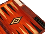 picture of Padauk Backgammon Set - Large - Padauk Field (9 of 12)