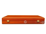 picture of Padauk Backgammon Set - Large - Padauk Field (11 of 12)