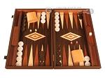 Wenge Backgammon Set - Large - Wenge Field - Item: 2904