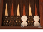 picture of Wenge Backgammon Set - Large - Wenge Field (8 of 12)
