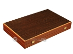 picture of Wenge Backgammon Set - Large - Wenge Field (10 of 12)