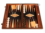 picture of Wenge Backgammon Set - Large - Black Field (1 of 12)