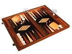 picture of Wenge Backgammon Set - Large - Black Field (2 of 12)