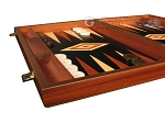 picture of Wenge Backgammon Set - Large - Black Field (5 of 12)