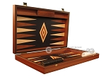 picture of Wenge Backgammon Set - Large - Black Field (7 of 12)