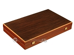 picture of Wenge Backgammon Set - Large - Black Field (10 of 12)