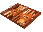 picture of Wenge Backgammon Set - Large - Mahogany Field (3 of 12)
