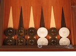 picture of Wenge Backgammon Set - Large - Mahogany Field (8 of 12)