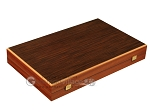 picture of Wenge Backgammon Set - Large - Mahogany Field (10 of 12)
