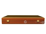 picture of Wenge Backgammon Set - Large - Mahogany Field (11 of 12)