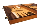 picture of Walnut Root Backgammon Set - Large - Oak Field (5 of 12)