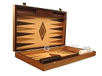 picture of Walnut Root Backgammon Set - Large - Oak Field (7 of 12)