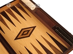 picture of Walnut Root Backgammon Set - Large - Oak Field (9 of 12)