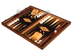 picture of Walnut Root Backgammon Set - Large - Black Field (3 of 12)