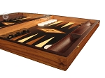 picture of Walnut Root Backgammon Set - Large - Black Field (6 of 12)