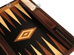 picture of Walnut Root Backgammon Set - Large - Black Field (9 of 12)