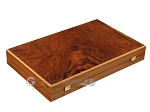 picture of Walnut Root Backgammon Set - Large - Black Field (10 of 12)