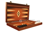 picture of 19-inch Wood Backgammon Set - Mahogany with Printed Field (7 of 12)