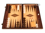 picture of Zebrano Backgammon Set - Large - Oak Field (1 of 12)