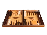 picture of Zebrano Backgammon Set - Large - Oak Field (4 of 12)