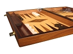 picture of Zebrano Backgammon Set - Large - Oak Field (5 of 12)