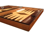 picture of Zebrano Backgammon Set - Large - Oak Field (6 of 12)