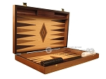 picture of Zebrano Backgammon Set - Large - Oak Field (7 of 12)