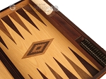 picture of Zebrano Backgammon Set - Large - Oak Field (9 of 12)