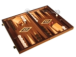 picture of Zebrano Backgammon Set - Large - Walnut Field (2 of 12)