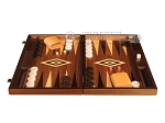picture of Zebrano Backgammon Set - Large - Walnut Field (4 of 12)