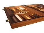 picture of Zebrano Backgammon Set - Large - Walnut Field (5 of 12)