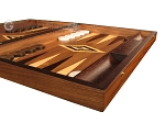 picture of Zebrano Backgammon Set - Large - Walnut Field (6 of 12)