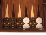 picture of Zebrano Backgammon Set - Large - Walnut Field (8 of 12)