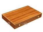 picture of Zebrano Backgammon Set - Large - Walnut Field (10 of 12)